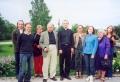 Tikšanās ar Upsalas (Zviedrija) draudzes pārstāvjiem 2004. gada jūlijā (centrā mācītājs Uldis Gailītis)