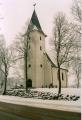 Priekules ev. lut. baznīca ziemā