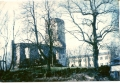 Sagrautā Priekules baznīca pēckara gados