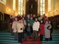 Draudzes plānošanas grupa ciemojas Cēsu baznīcā