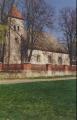 Skats uz Valdemārpils ev. lut. baznīcu no dienvidu puses