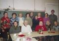 Sadraudzības pasākums draudzes namā 2002. gada 9. oktobrī