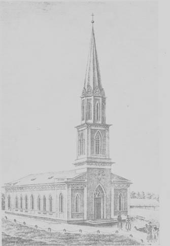 Vecpiebalgas baznīca - vēsturiskais izskats