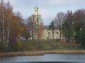 Vecumnieku baznīca rudenī