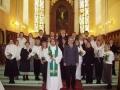 Pēc kristību un iesvētību dievkalpojuma