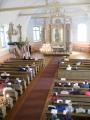 Dundagas baznīcas iekšskats