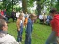 2005. gada Draudzes dienas. Sadraudzības brīži pie ugunskura