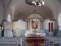 Grobiņas baznīcas iekšskats